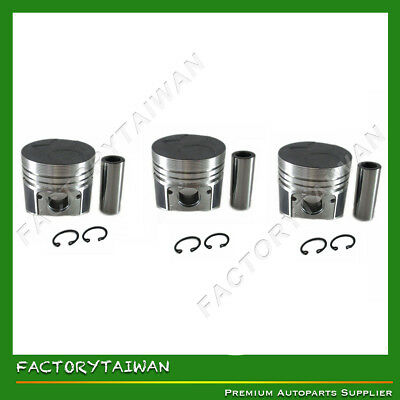 Pistons Set for KUBOTA D905 STD x 3 PCS