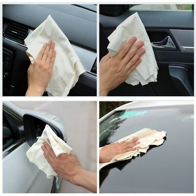 AU Natural Chamois Leather Car Auto Cleaning Towel Cloth Wipe Washing Wipe Towel