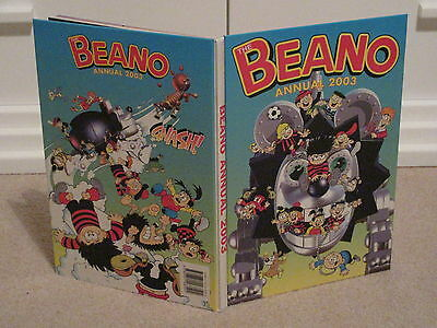 THE BEANO BOOK,2003-UNCLIPPED-VGC-LIKE  DANDY-No inscriptions