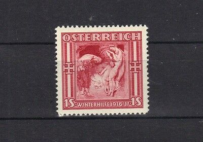 STAMPS AUSTRIA 1936 WINTER RELIEF FUND  1s   (MLH)  lot A56