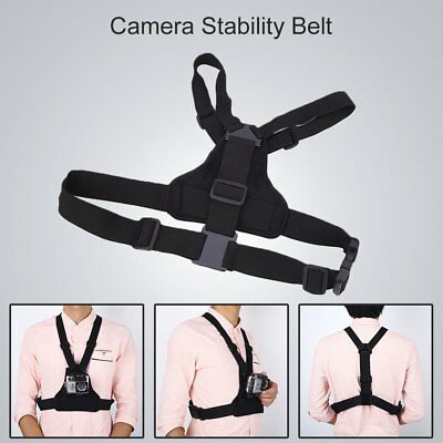 Chest Belt Flex Body Strap Harness Mount For Sports Action Camera Universal