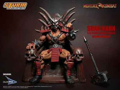 Storm Collectibles 1/12 - Mortal Kombat: Shao Kahn (Special Edition) [PRE-ORDER]