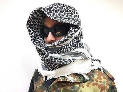 deux x 100 % tissus coton Military SHEMAGH FOULARD KEFFIEH voile tactique 02890145071