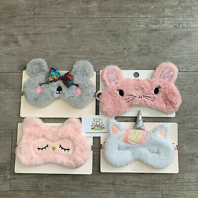 Childrens Kids Eye Sleeping Mask Primark Girls Boys Travel Pamper Sleepover Gift