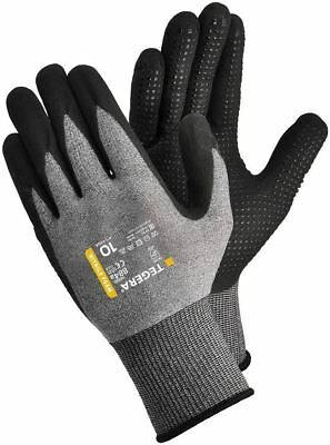 Tegera 884A Premium Nitrile Coated Work Gloves With Dot Grip Oil Waterproof Palm