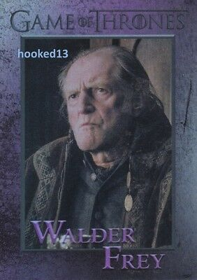 Game Of Thrones: Season 6 Walder Frey FOIL Parallel Card