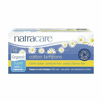 tampons super avec applicateur - Natracare - 16 Stück