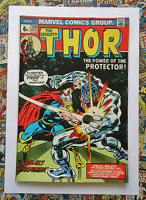 THOR #219 - JAN 1974 - 1st PROTECTOR APPEARANCE! - FN (6.0) PENCE COPY!