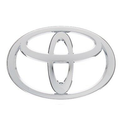 For Front Chrome Grille Emblem OES Genuine 75311-04060 For Toyota Tacoma 05-09