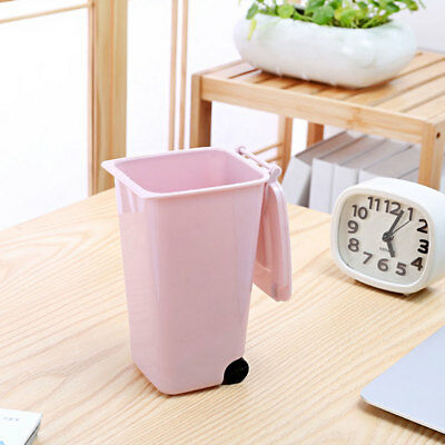 Dustbin Wheelie Trash Can Mini 10*8*15.5cm 4 Color Markers Garbage Rulers
