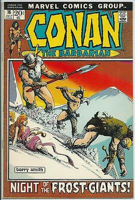 **conan The Barbarian #16**(Jul 1972, Marvel)**barry Smith Art!**nm-**nice!!!**