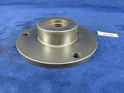 "Lathe Chuck Back Plate 4-5/8"" OD Threaded 1-1/16"" - 9 TPI Mount. (#3674)"