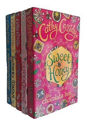 Chocolate Box Girls 5 Books Cathy Cassidy Kids Children Girls No. 1 to 5 NEW