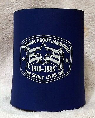 BSA National Scout Jamboree 1910-1985 can foam coozie insulator beverage holder