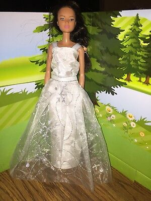 Doll Clothes Party Gown Outfits And Accessories Barbie Girl skirt green