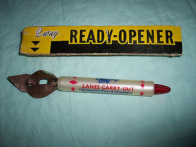 Vintage  - 2 - Way Opener - Lanes Carry Out - Granville Rd. Columbus, Ohio