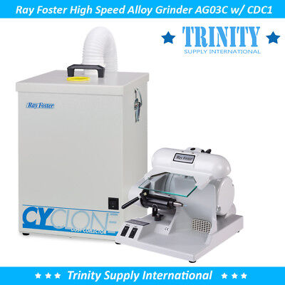 Ray Foster AG03C Alloy Grinder w/ Dust Collector Dental Lab Laboratory USA