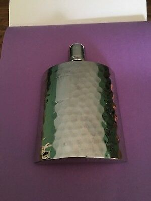 Flask Stainless Steel Holds 1 pint , Unused, No Box.