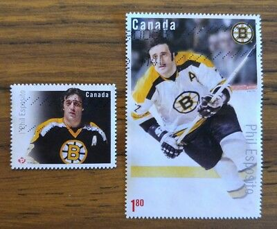 2016 Canadian Hockey Legend PHIL ESPOSITO used pair  #2943 and #2949
