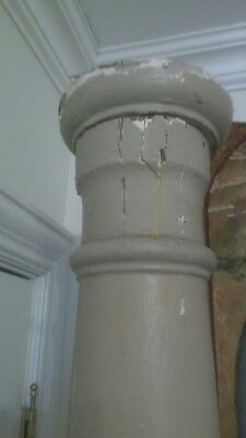 ONE Antique Architectural Salvage Pillar Post Porch  column located MICHIGAN 7FT