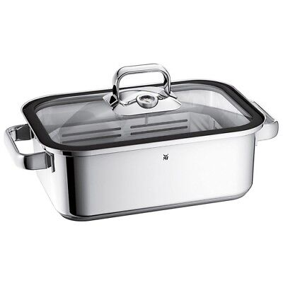 WMF ROASTING PAN WITH LID Vitalis 41x27cm Stainless 18/10 1741016040