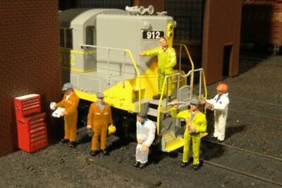 Bachmann - Scenescapes� Figures -- Mechanics pkg(6) - O