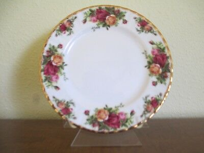 ROYAL ALBERT Bone China, Old Country Roses Salad Plate(s), Excellent Condition