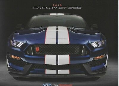 2018 Ford Shelby GT350 Sales Brochure