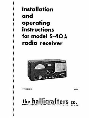 Hallicrafters S 40 likewise Oldies Photo also K4MLD additionally Showthread as well Hallicrafters. on hallicrafters s 40a