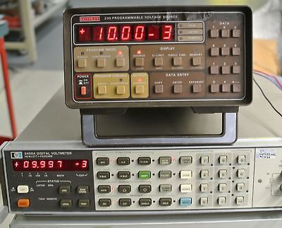 Keithley 230 voltage source, excellent shape,