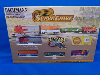 N Scale Super Chief Complete Freight Train Set Bachmann New in Box