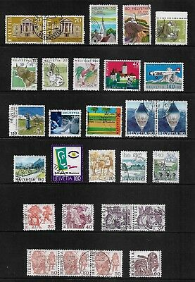 SWITZERLAND mixed collection No.25