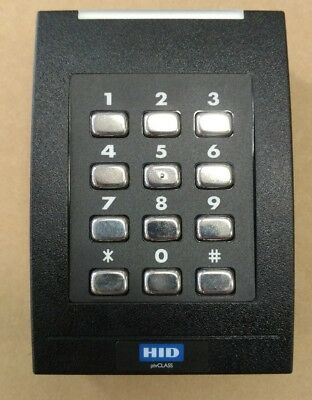 5 - HID pivClass  RPK40-H Wall Switch Keypad Reader-SHIPS FREE