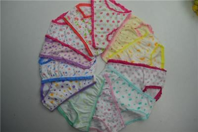6pcs/lot Baby Girl Underwear Kids Child's Panties For Shorts For Nurseries Child