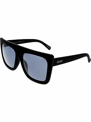 Quay Women's Photochromatic Cafe Racer QU-000183-BLK/SMK Black Square Sunglasses