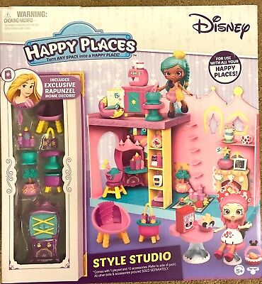 3 Shopkins HAPPY PLACES DISNEY surprise delivery mystery ...