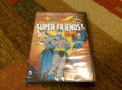 The Worlds Greatest Super Friends: And Justice for All (DVD, 2013) Brand New DC