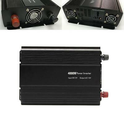 Car Truck 4000W 8000W Peak Modified Sine Wave Power Inverter+2 Connecting Cable