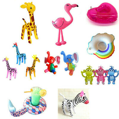 Inflatable Party Decor Kid Swimming Pool Beach Blow Up Toy Gift  12 Styles