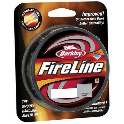 Berkley Fireline Smoke Braid 2017