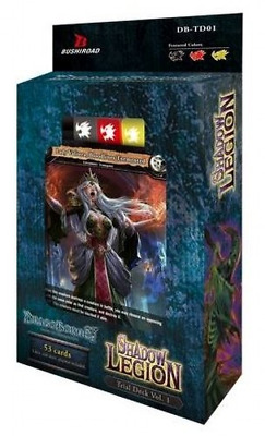 Bushiroad Dragoborne Rise to Supremacy Shadow Legion DB-TD01 Trial Deck