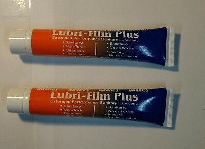 Lubrifilm, Lubri film, Petrol gel,Haynes for ice cream  and slush machines 2x1oz
