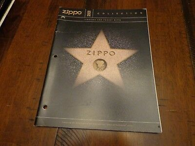 Full Size Zippo Lighter Catalog 2001 Unused