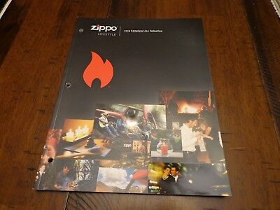 Full Size Zippo Lighter Catalog 2013 Unused