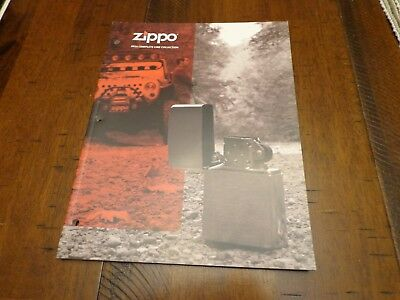 Full Size Zippo Lighter Catalog 2014 Unused
