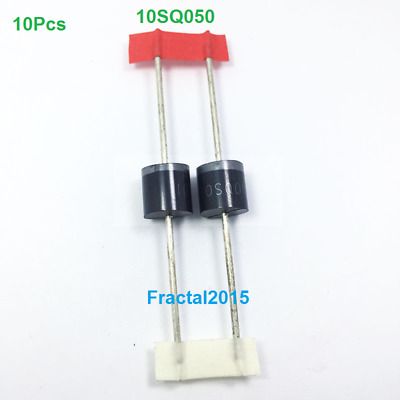 10pcs 10SQ050 10A 50V Schottky Rectifiers Diode