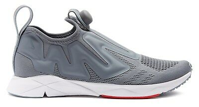 91cb089c76e1 REEBOK  Pump Supreme Engine Low-Top Mesh  Trainers Sneakers Grey US 9.5