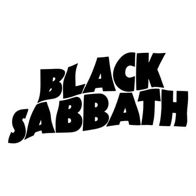 Black sabbath band sticker logo vinyl any 2 stickers for £5 apart from sets
