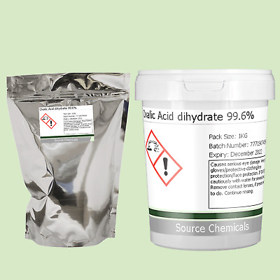 Oxalic Acid 99.6% 100g to 1Kg Including Delivery