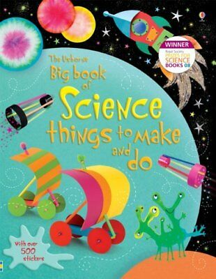 Big Book of Science Things to Make and Do (Usborne Activities) by Rebecca Gilpin